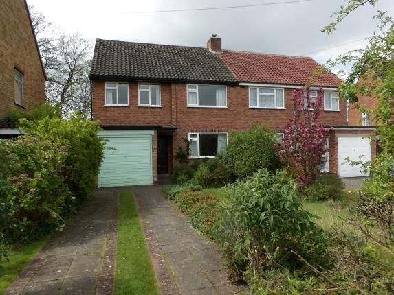 Thumbnail Semi-detached house for sale in Rushleigh Road, Shirley, Solihull, West Midlands