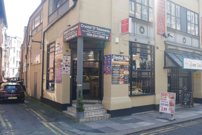 Thumbnail Commercial property to let in Former Crystal D Takeaway, 4 Waterloo Street, Newcastle City Centre