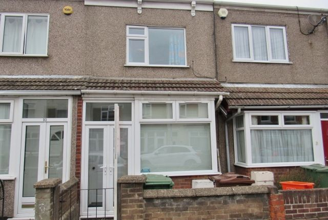 Thumbnail Terraced house to rent in St. Heliers Road, Cleethorpes