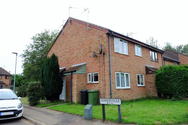 Thumbnail Terraced house for sale in Somerville, Werrington, Peterborough