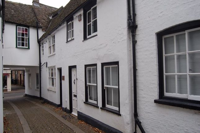 Thumbnail Cottage to rent in Royal Oak Passage, High Street, Huntingdon