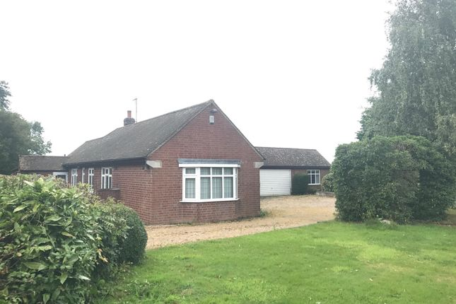 Thumbnail Bungalow to rent in Desford Road, Thurlaston, Leicester