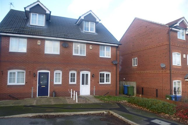 Thumbnail Semi-detached house to rent in Mulberry Close, Mansfield