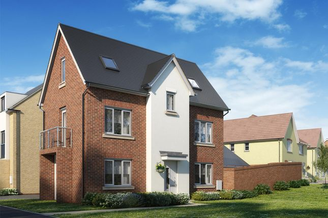 """Thumbnail Detached house for sale in """"Hexham"""" at Marsh Lane, Harlow"""
