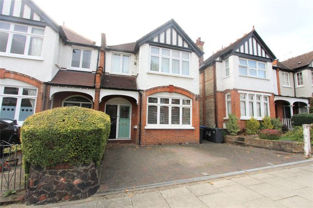 Thumbnail Flat to rent in Fernleigh Road, Winchmore Hill, London