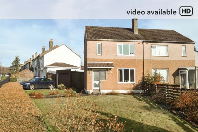 Thumbnail Semi-detached house for sale in Beechwood Drive, Glasgow