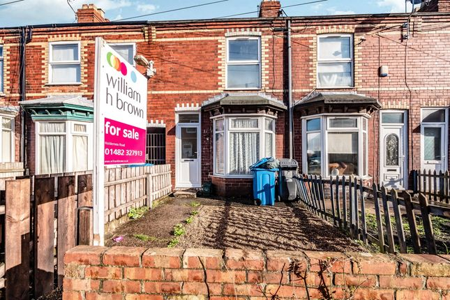 Thumbnail Terraced house for sale in Whitby Avenue, Whitby Street, Hull
