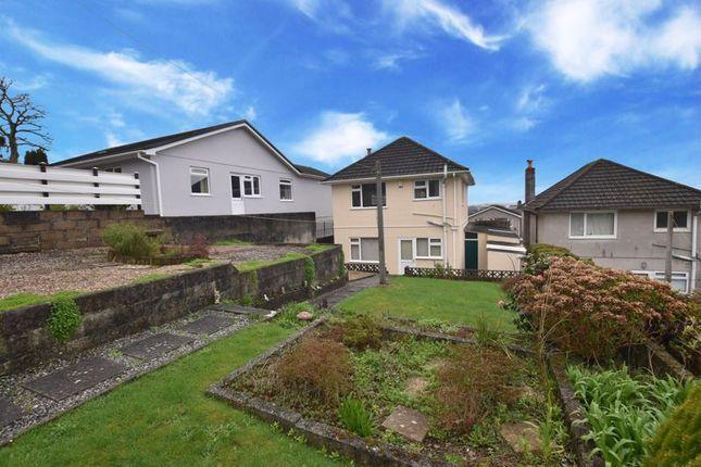 Garden of Brean Down Close, Plymouth PL3