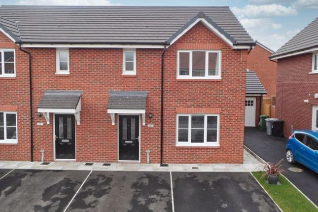 Thumbnail Semi-detached house for sale in Heald Way, Willaston, Cheshire