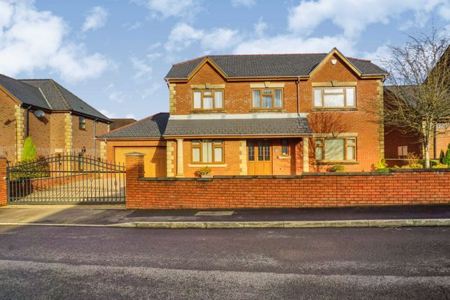 Thumbnail Detached house for sale in Nant Celyn, Neath