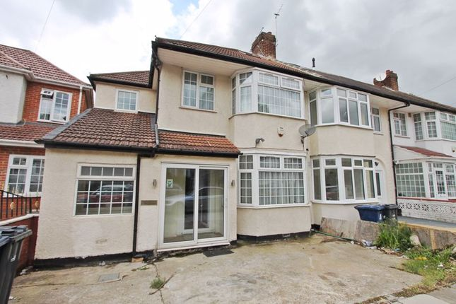 Thumbnail End terrace house to rent in Westbury Avenue, Southall