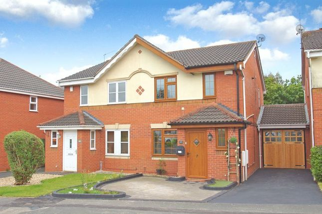Thumbnail Semi-detached house to rent in Clarendon Close, Brockhill, Redditch, Worcestershire