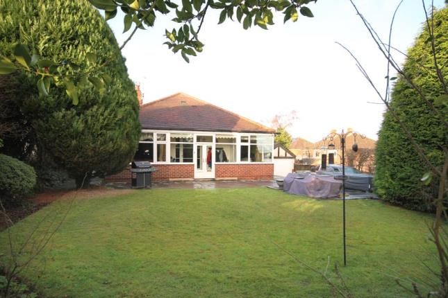 Thumbnail Bungalow for sale in Salisbury Road, Dronfield, Derbyshire