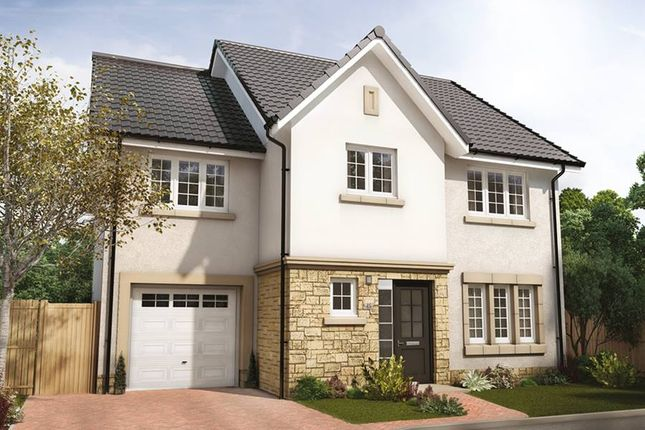 "Thumbnail Semi-detached house for sale in ""The Bryce"" at Hillview Gardens, Nivensknowe Park, Loanhead"
