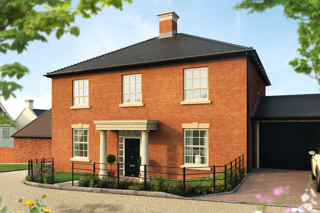 """Thumbnail Detached house for sale in """"The Annesley """" at Pitt Road, Winchester"""