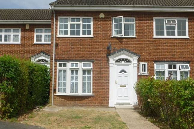Thumbnail Terraced house to rent in Willows Close, Pinner