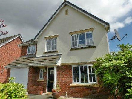 Thumbnail Detached house for sale in Manhattan Gardens, Chapelford Village, Warrington, Cheshire