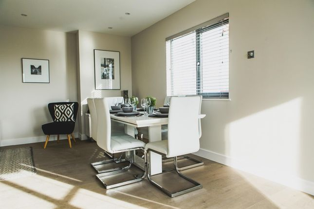 Thumbnail Penthouse for sale in Apartment 28, Park Road, Peterborough