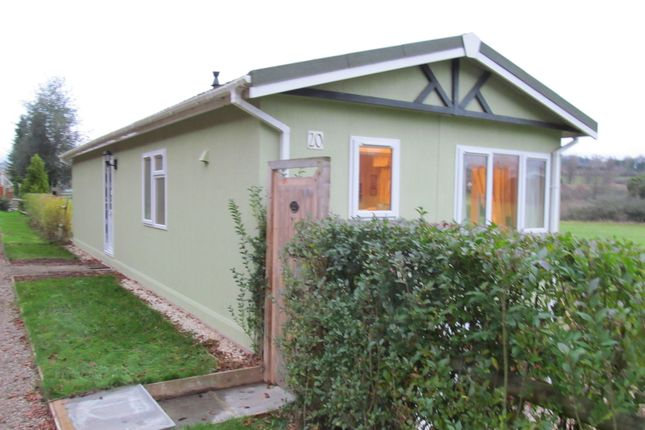 Thumbnail Mobile/park home for sale in Knowle Sands Park, Highly Road, Eardington, Bridgnorth, Shropshire