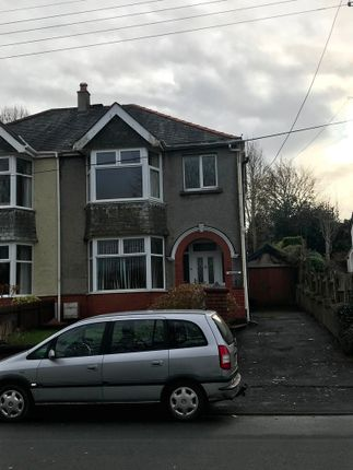 Thumbnail Semi-detached house to rent in Pontamman Road, Ammanford