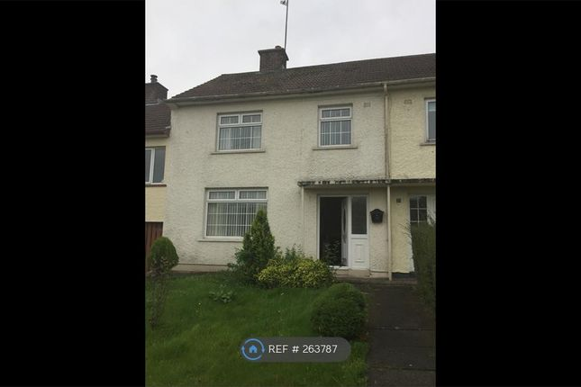 Thumbnail Terraced house to rent in Croob Park, Ballynahinch