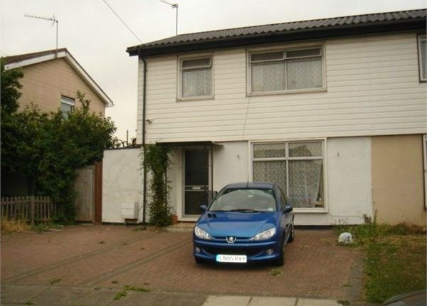 Thumbnail Semi-detached house to rent in Fisher Close, Greenford, Middlesex