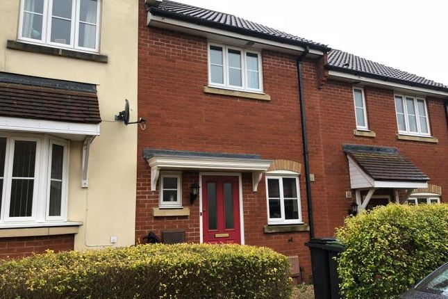 Thumbnail Terraced house to rent in Dunnock Close, Stowmarket