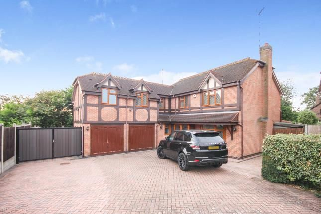 Thumbnail Detached house for sale in Broadwells Court, Westwood Heath, Coventry, West Midlands