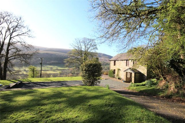 Thumbnail Detached house for sale in Libanus, Brecon, Powys