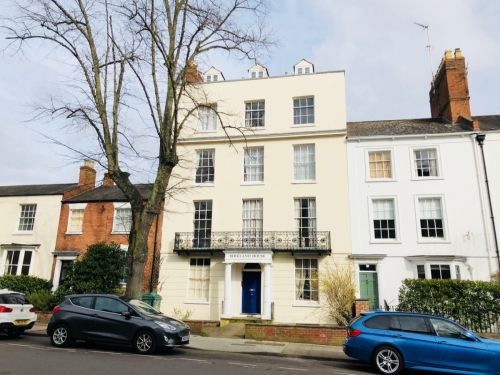 Thumbnail Flat to rent in Birkland House, 37 Portland Street, Leamington Spa