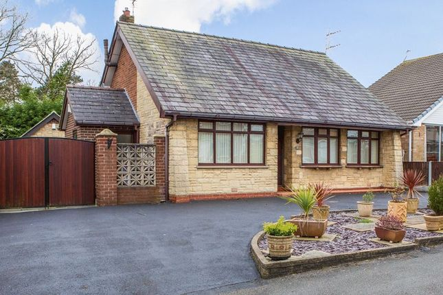 Thumbnail Detached bungalow for sale in Queensway, Shevington, Wigan