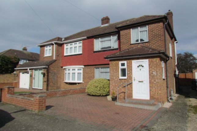 3 bed semi-detached house for sale in Bullwell Crescent, Cheshunt