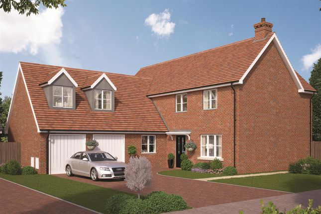 Thumbnail Detached house for sale in Farrendon Court, Off Stratford Close, Aston Clinton