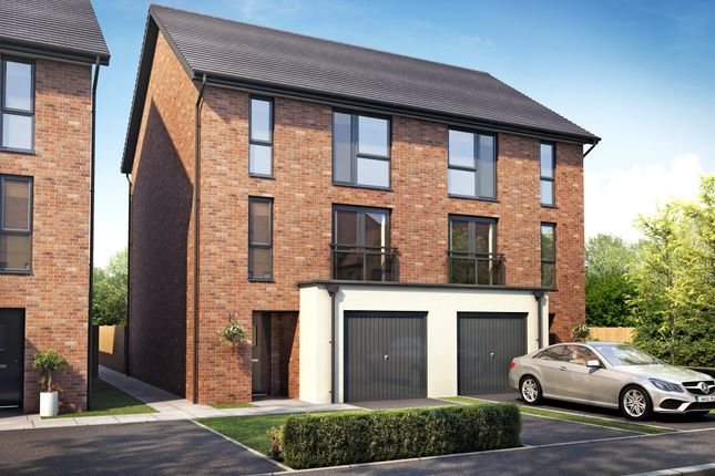 "4 bedroom end terrace house for sale in ""Winchester"" at Ffordd Y Mileniwm, Barry"
