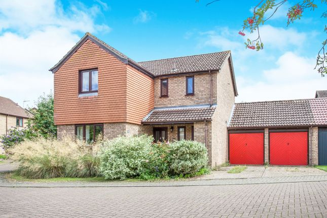 Thumbnail Detached house for sale in John Amner Close, Ely