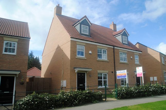 Thumbnail Town house for sale in The Meadows, Wynyard, Billingham
