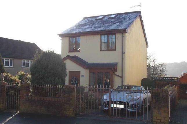 Thumbnail Detached house for sale in Elm Street, Rhydyfelin, Pontypridd