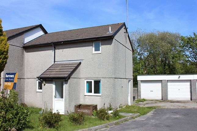 Thumbnail End terrace house for sale in Wesley Close, Stenalees, St. Austell