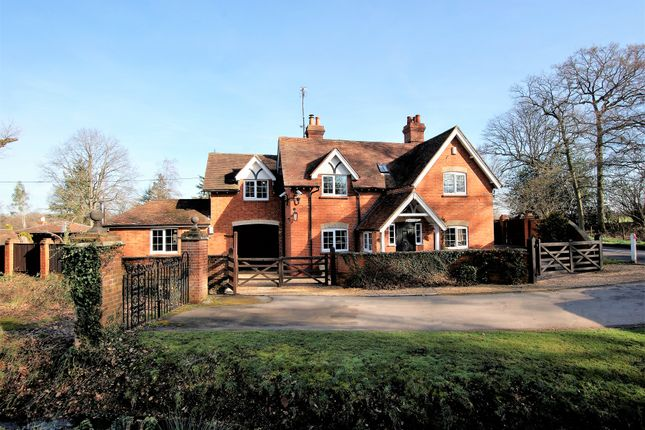 Thumbnail Detached house for sale in Bramshill Road, Eversley, Hook