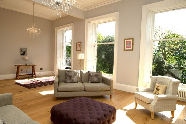 Thumbnail Detached house to rent in Claremont Crescent, Broughton, Edinburgh