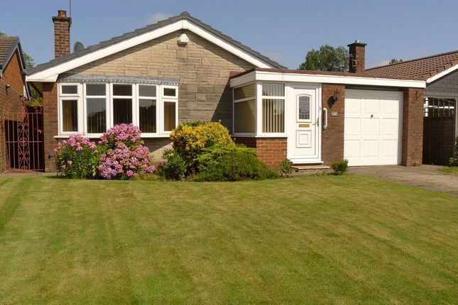 Thumbnail Detached bungalow for sale in Hough Fold Way, Harwood, Bolton