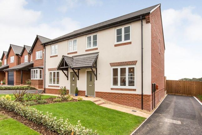 Thumbnail Semi-detached house to rent in Fieldfare Close, Congleton