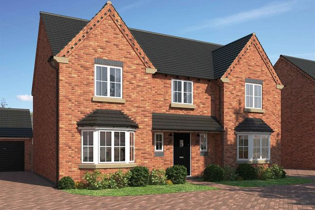 "Thumbnail Detached house for sale in ""The Gloucester"" at Northborough Way, Boulton Moor, Derby"