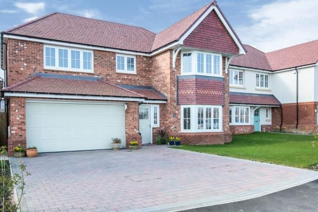 Thumbnail Detached house for sale in Meadow Way, Sandbach, Cheshire, Sandbach