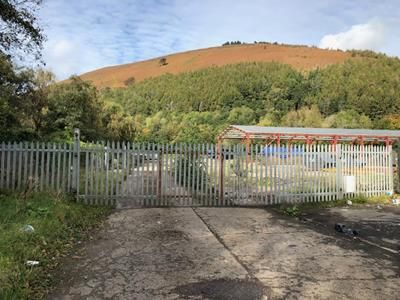 Thumbnail Commercial property for sale in Former Recycling Site, Newtown, Crosskeys
