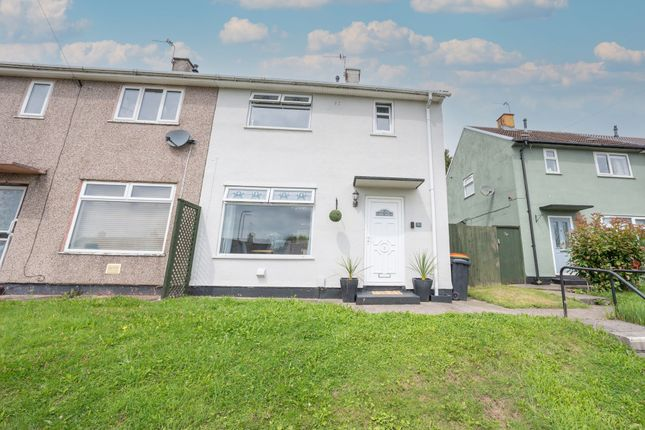 Thumbnail Semi-detached house for sale in Brynglas Drive, Newport