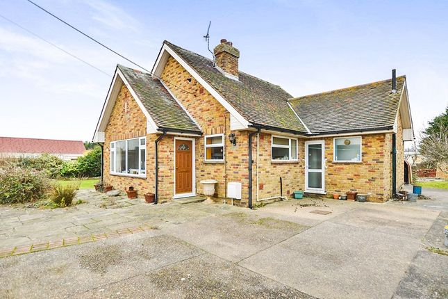 Thumbnail Bungalow for sale in New Hope Pett Level Road, Winchelsea Beach, Winchelsea