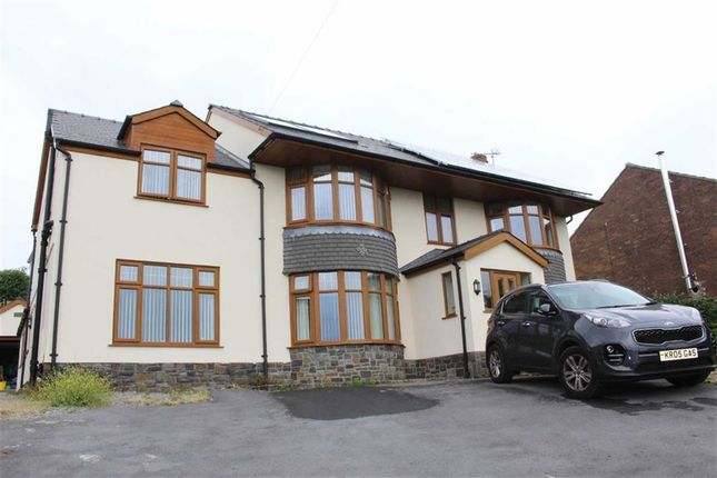 Thumbnail Detached house for sale in Pentre Banadl, Killay, Swansea