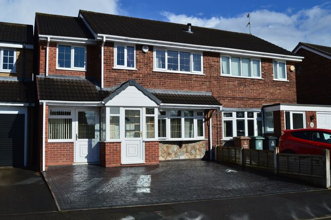 Thumbnail Semi-detached house for sale in Dursley Close, Willenhall
