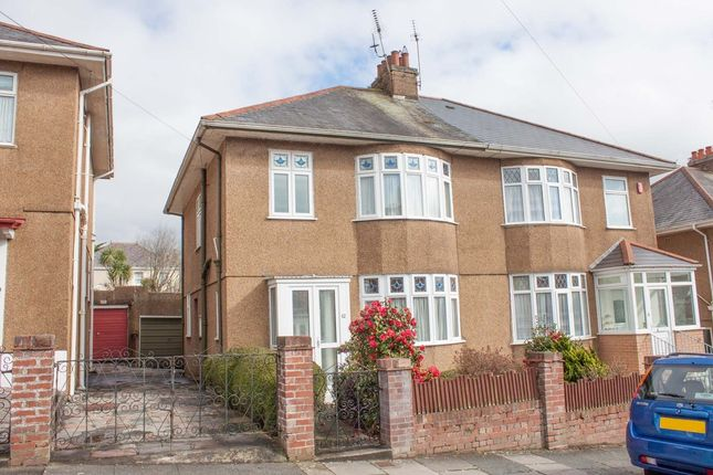 Thumbnail Semi-detached house for sale in Brancker Road, Milehouse, Plymouth